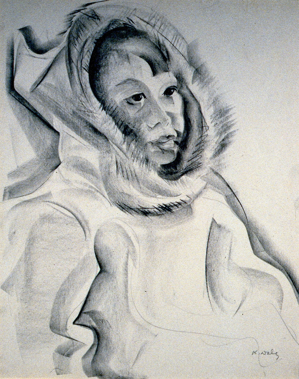 Untitled (Inuit Girl), 1952-68