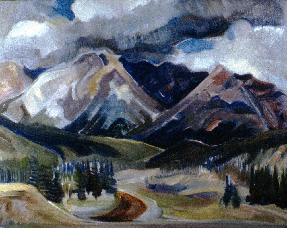 Untitled (Landscape, Rockies), nd.