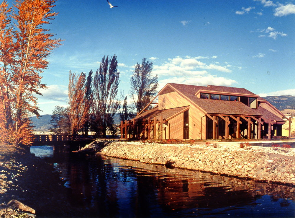 Art Gallery of the South Okanagan, 1985, Dan Lybarger, photo on paper, 42 cm x 58.5 cm, 2003.03.01, gift of the artist