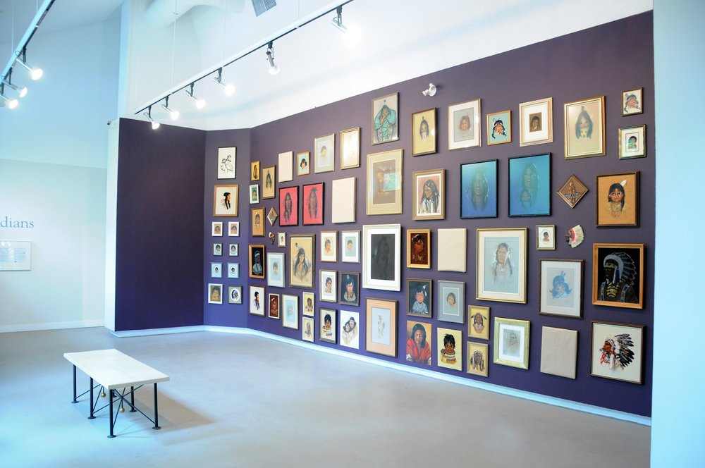 Installation view of the exhibit