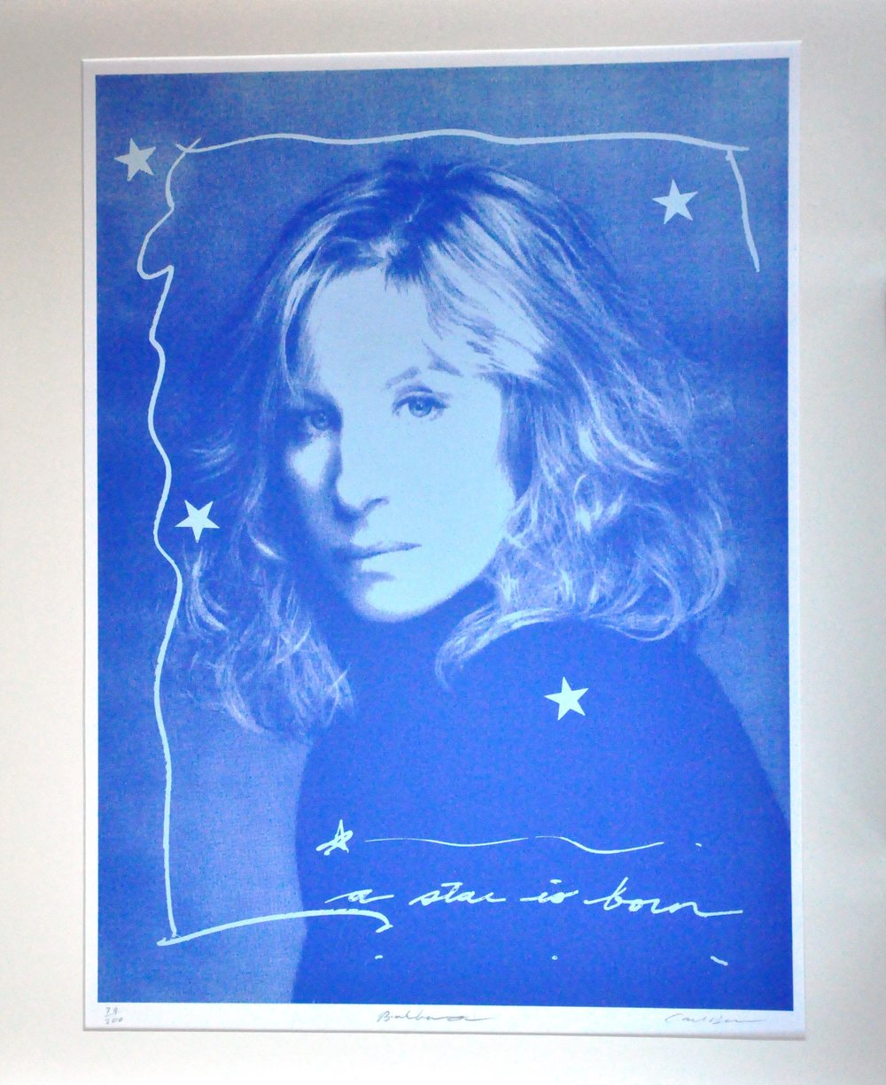 "Barbara,  2000, Carl Beam, serigraph on paper, edition 79/200, 30"" x 22"", 2006.05.03, gift of the Milton Winberg Foundation"