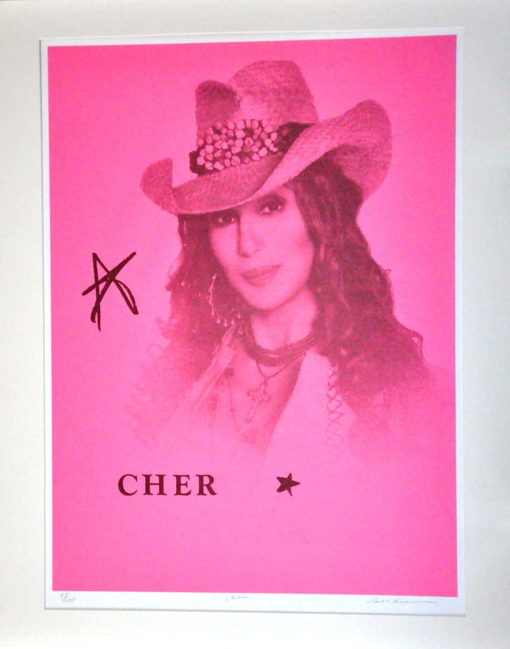 "Cher,  2000, Carl Beam, serigraph on paper, edition 68/200, 30"" x 22"", 2006.05.04, gift of the Milton Winberg Foundation"