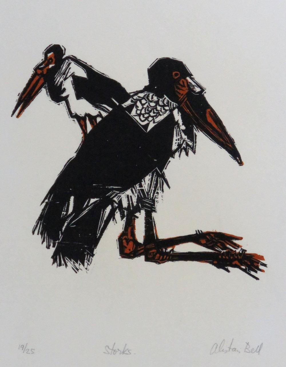 Storks woodcut.JPG