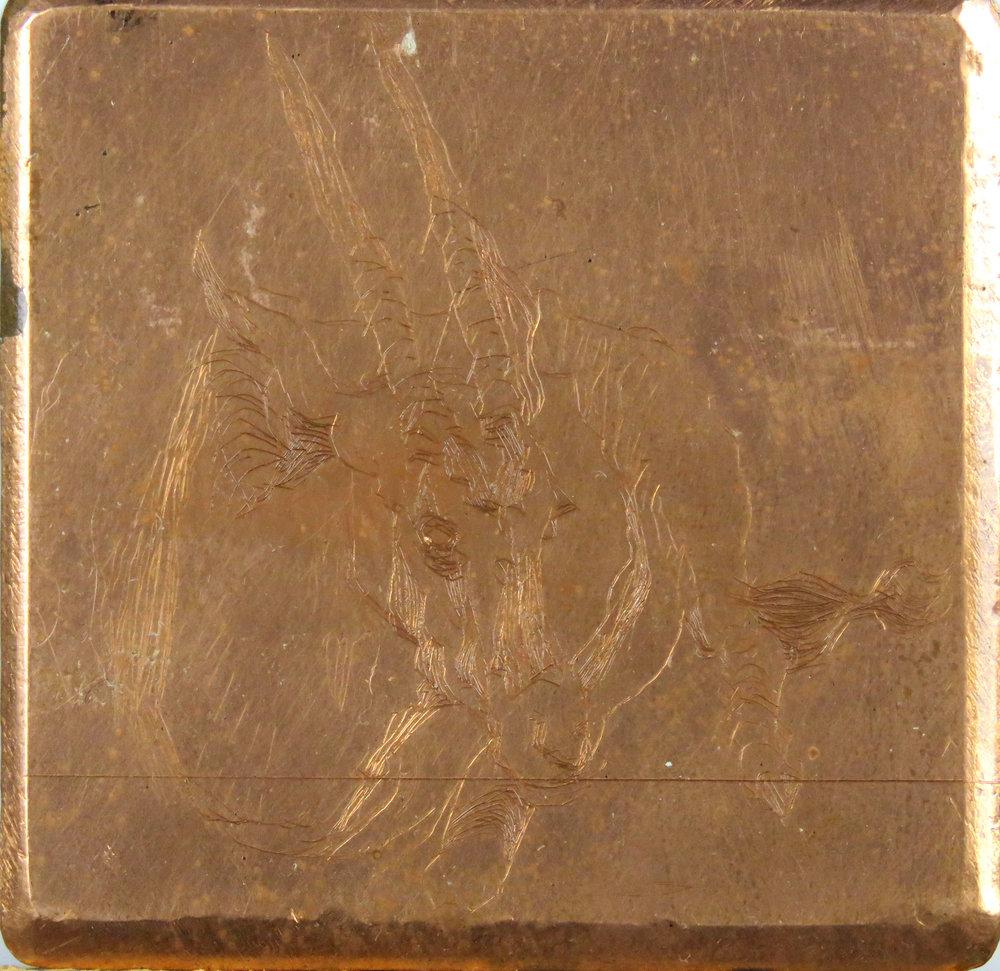 Oryx drypoint plate.jpg