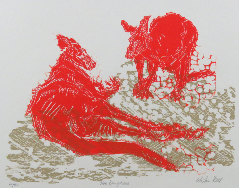 Two Kangaroos woodcut.JPG
