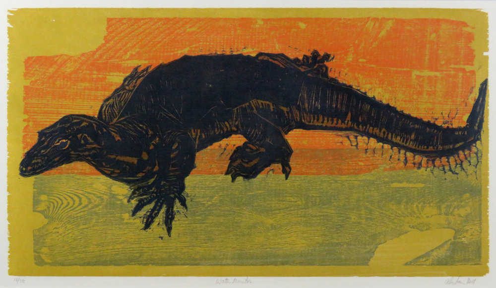 Water Monitor woodcut.jpg
