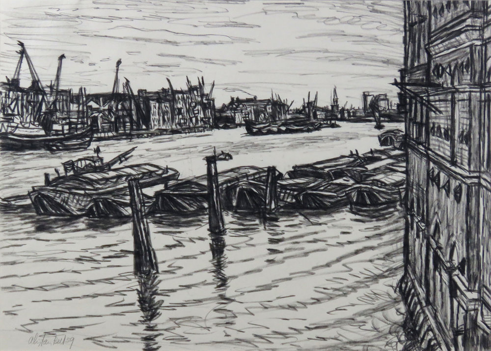 The Thames from Tower Bridge 18-59 crayon.jpg