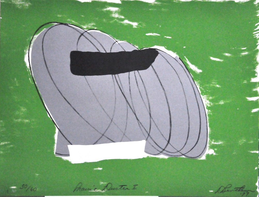 "Prairie   Duster I ,  1977, Douglas Bentham, lithograph, 30/60, 19.9""   x 25.8"",  2008.02.08, Gift of   the Canada Council Art Bank."
