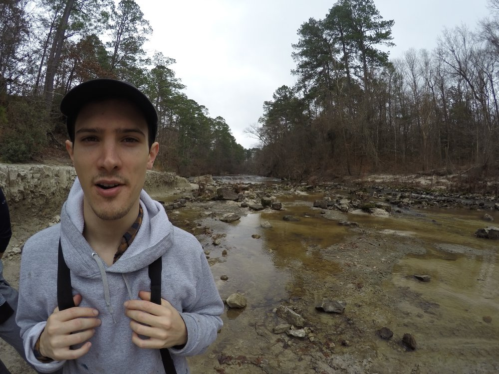 """Jacob Broussard - """"Clarity Excursions was an incredible experience that I needed; I was in a stressful place, trying to decide my next move in my career and in my life. I needed that time to laugh and reflect on my goals. I loved being outside and feeling in tuned with nature and with myself."""""""