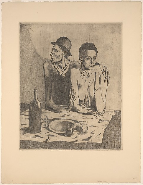 The Frugal Repast, Pablo Picasso Source: metmuseum.org