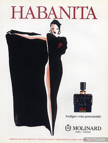 Vintage Habanita poster. Source: Raiders of the Lost Scent