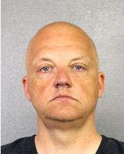 Mr. Schmidt was arrested on Saturday night by F.B.I. agents before departing Miami for Germany.   CreditBroward Sheriff's Office, via Getty Images