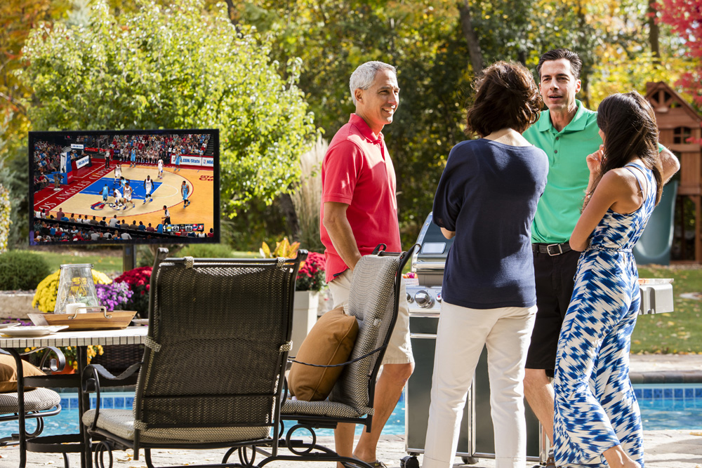 Don't forget to check out our Outdoor Entertainment systems.