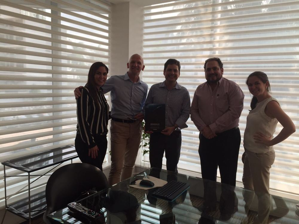 The HD Panama team after a meeting with one of Panama's leading architecture and design firm  FORZACREATIVA .