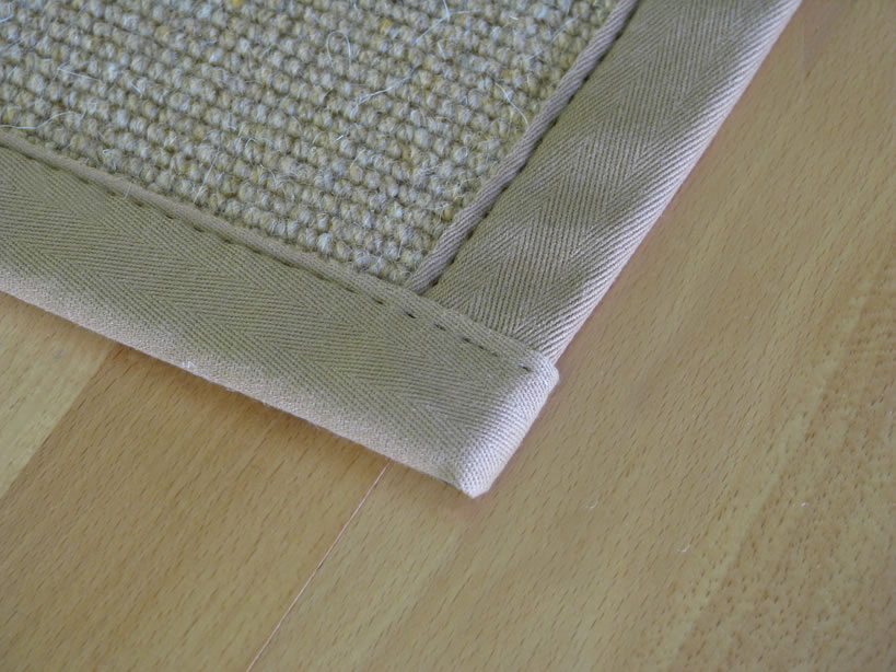 Top Stitch with Straight Corners