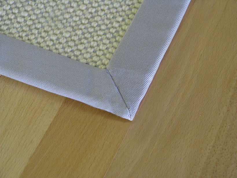 Blind Stitch with Mitered Corners