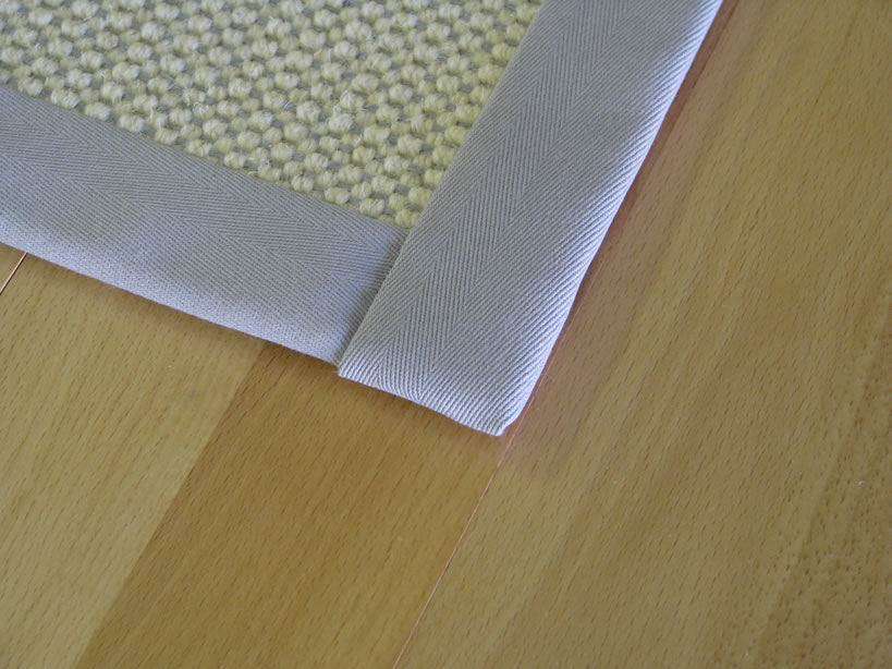 Blind Stitch with Straight Corners