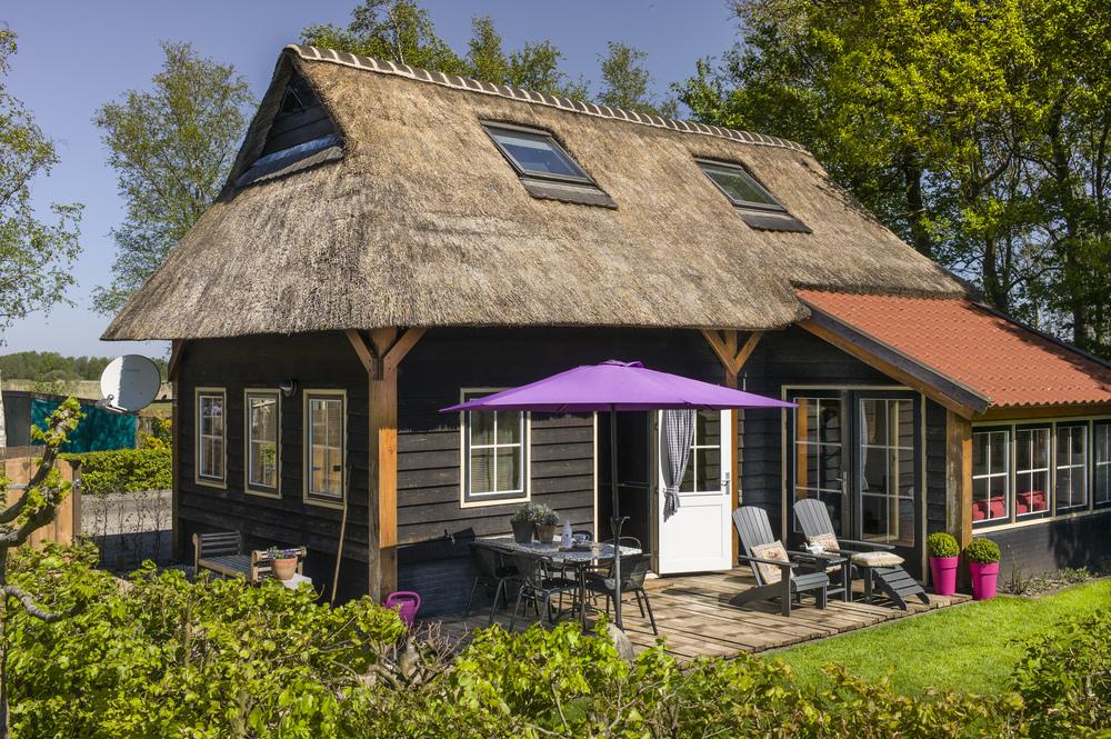 Met riante tuin en terras is de 'Rietvogel' zeer geschikt voor een gezin met kinderen.