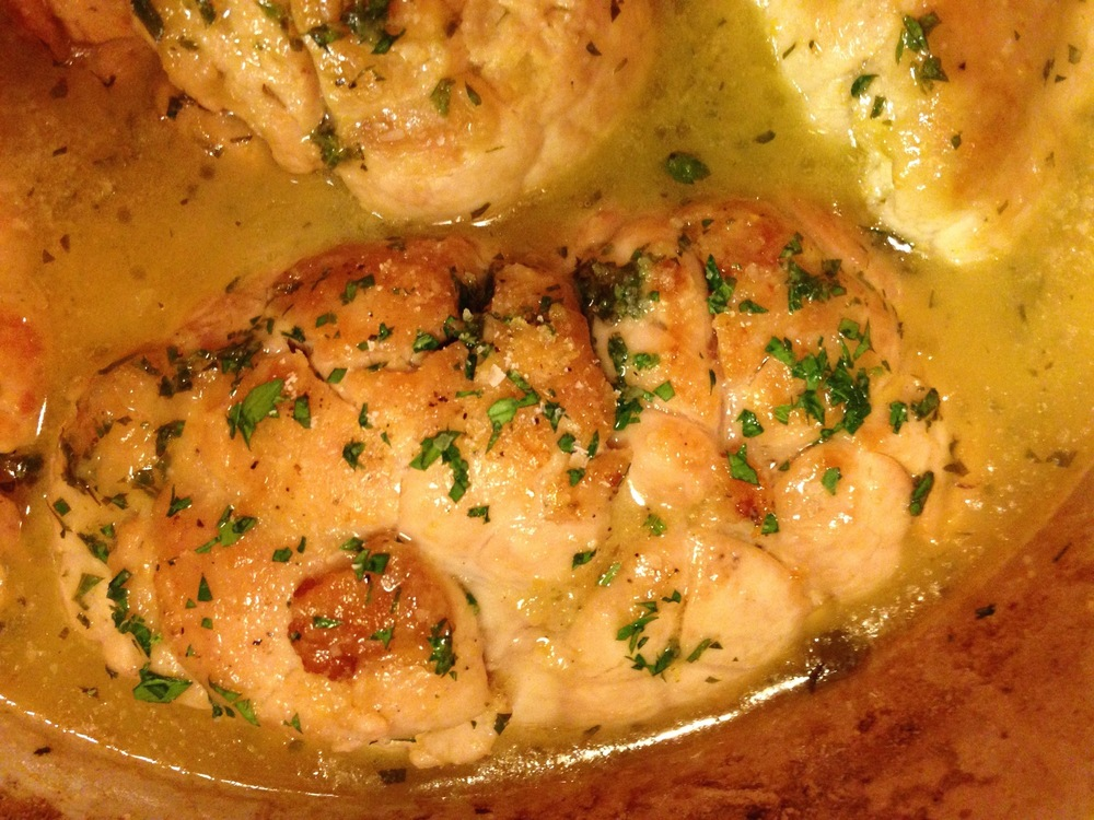 Braised Sweetbreads in Lemon Butter