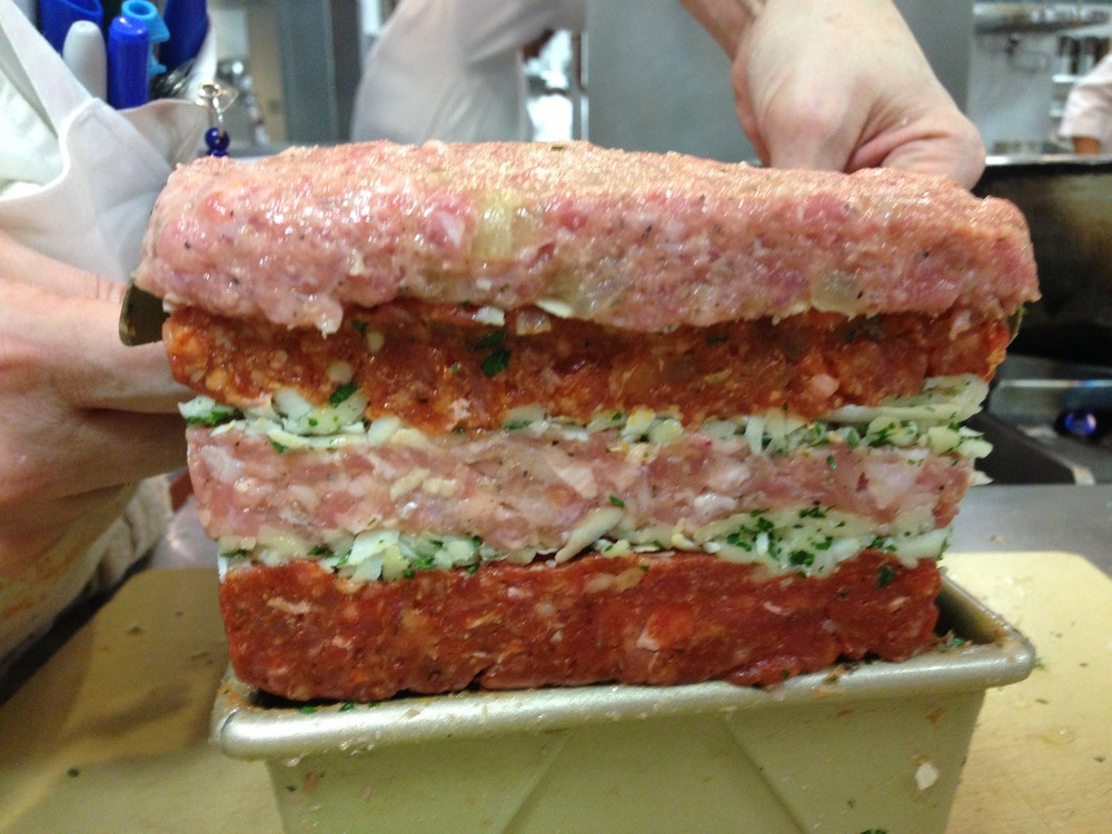 Four-Meat Meatloaf