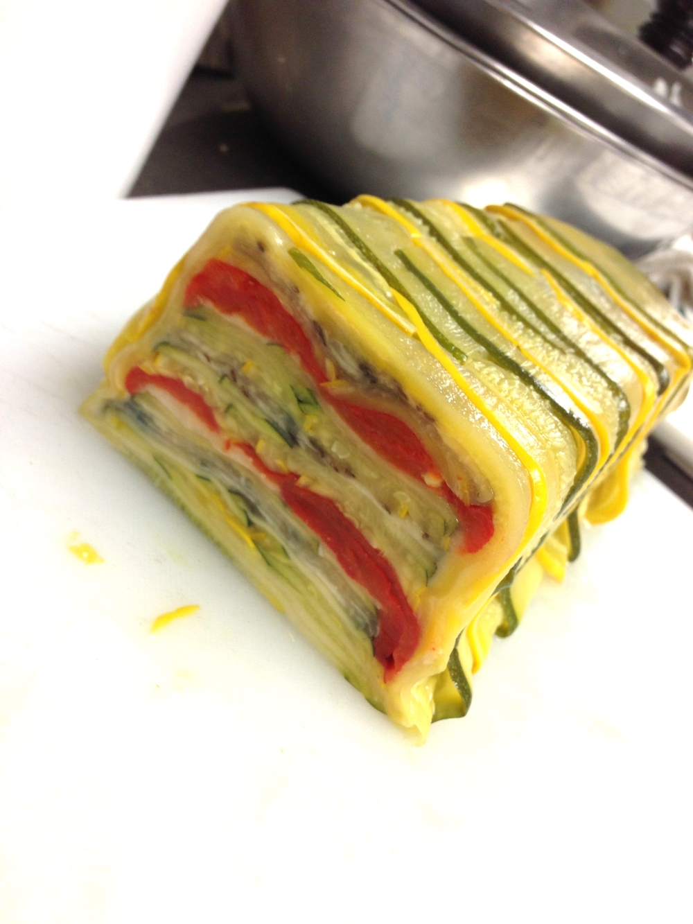 Roasted Vegetable Terrine