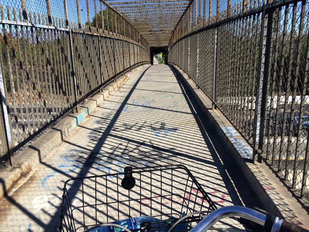 The Bridge Crossing over Interstate 5