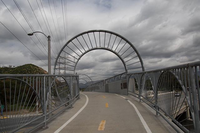 Never forget those who came before you. Thank you Alex Baum, pioneering  advocate for bicycling who died at 92 in 2015. He ardently championed the LA River bike path, and this bike bridge was built and named after him in 2002.