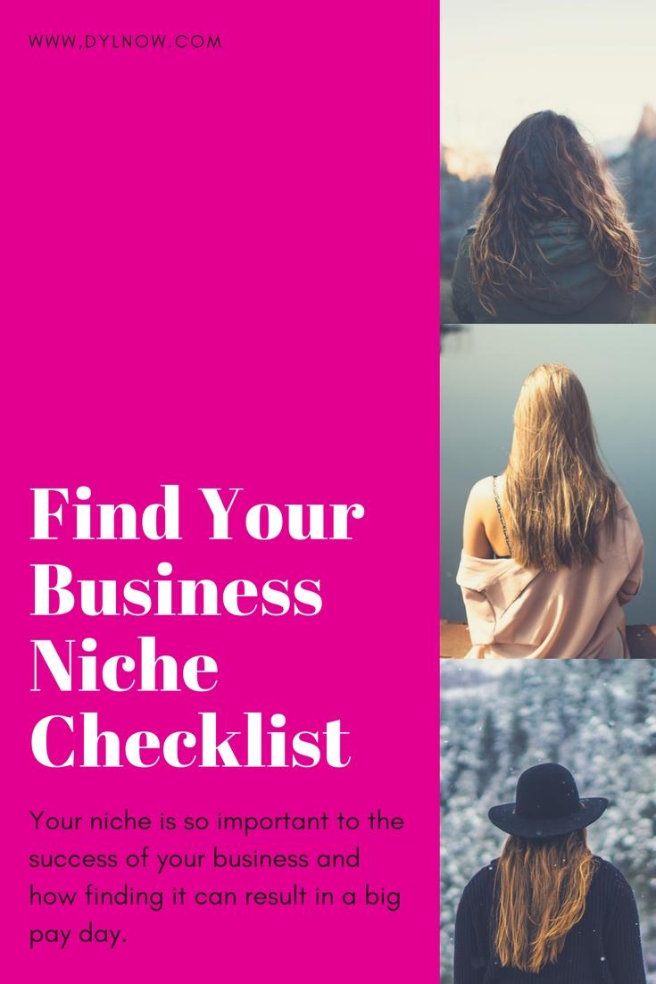 Online business niche