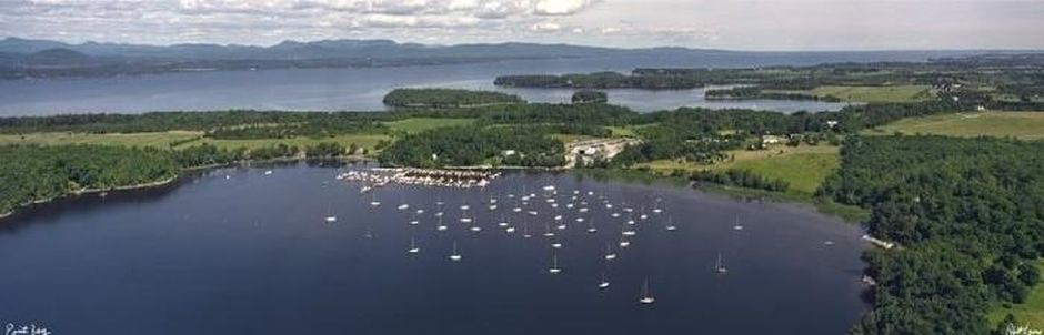 Point Bay Marina is 3 miles from the Mt. Philo Inn toward the southern end of Lake Champlain.