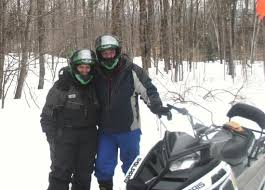snowmobile Mt. Philo