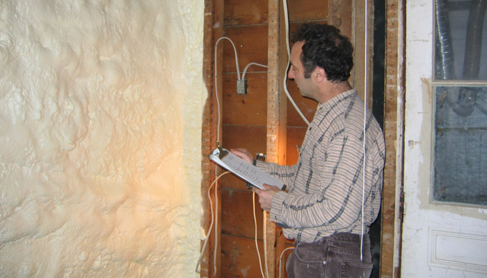 Dave was featured for many years on the Efficiency Vermont website as an early adopter of foam insulation