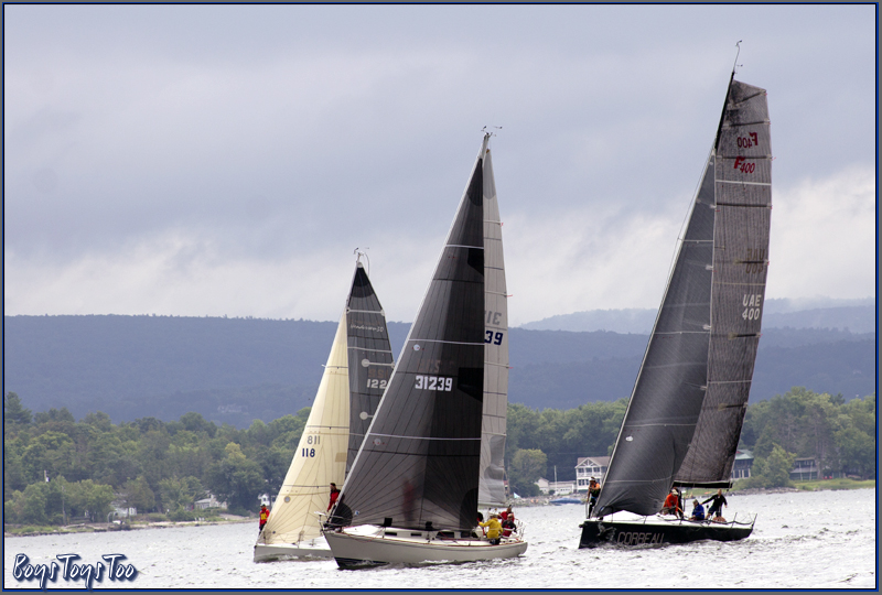 The Diamond Island Regatta, sponsored by the Royal Savage Yacht Club and the Point Bay Marina, August 18, 2018.Proceeds benefit the Lake Champlain Maritime Museum. Photo by Rik Carlson.  Additional photos :  boystoystoo.com/royalsavage.html