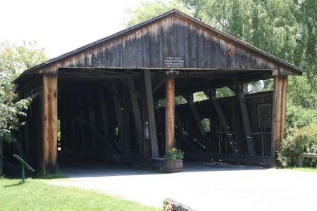Museum Covered Bridge, Shelburne Museum, Shelburne Vermont