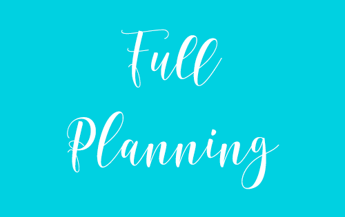 Full Wedding Planning