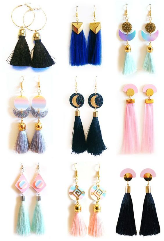 Suzywan DELUXE tassel earrings