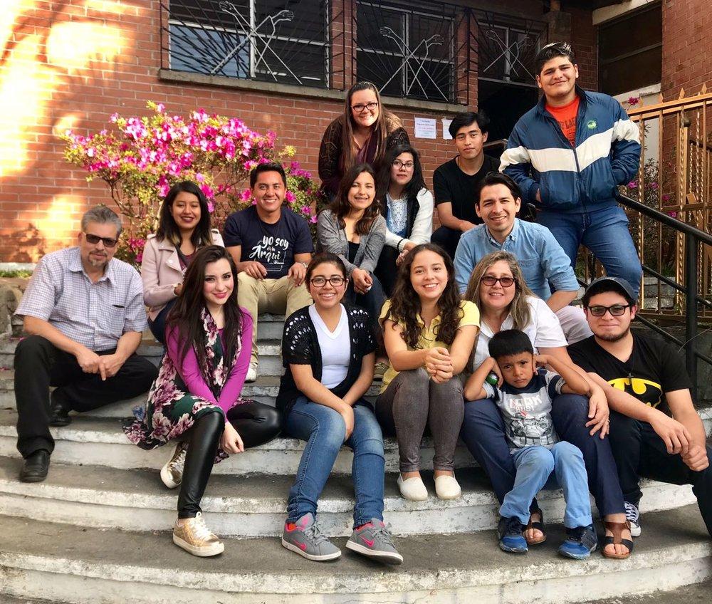 Primera reunión:  Domingo 28 de Enero 2019 Parroquia Inmaculada Corazón de María, Ciudad de Guatemala