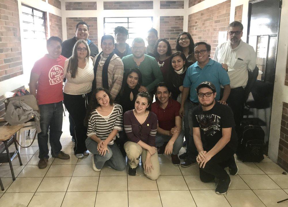Primeros dos Ensayos Musicales:  Sábado 3 y Domingo 4 de Enero 2019 Parroquia Inmaculada Corazón de María, Ciudad de Guatemala