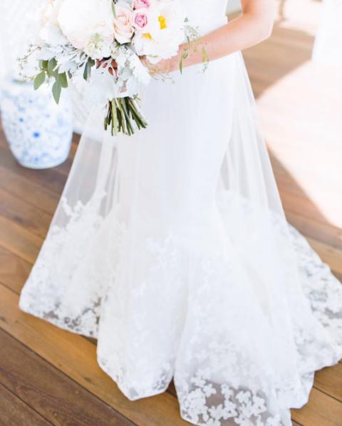Bride Dress Torn Off