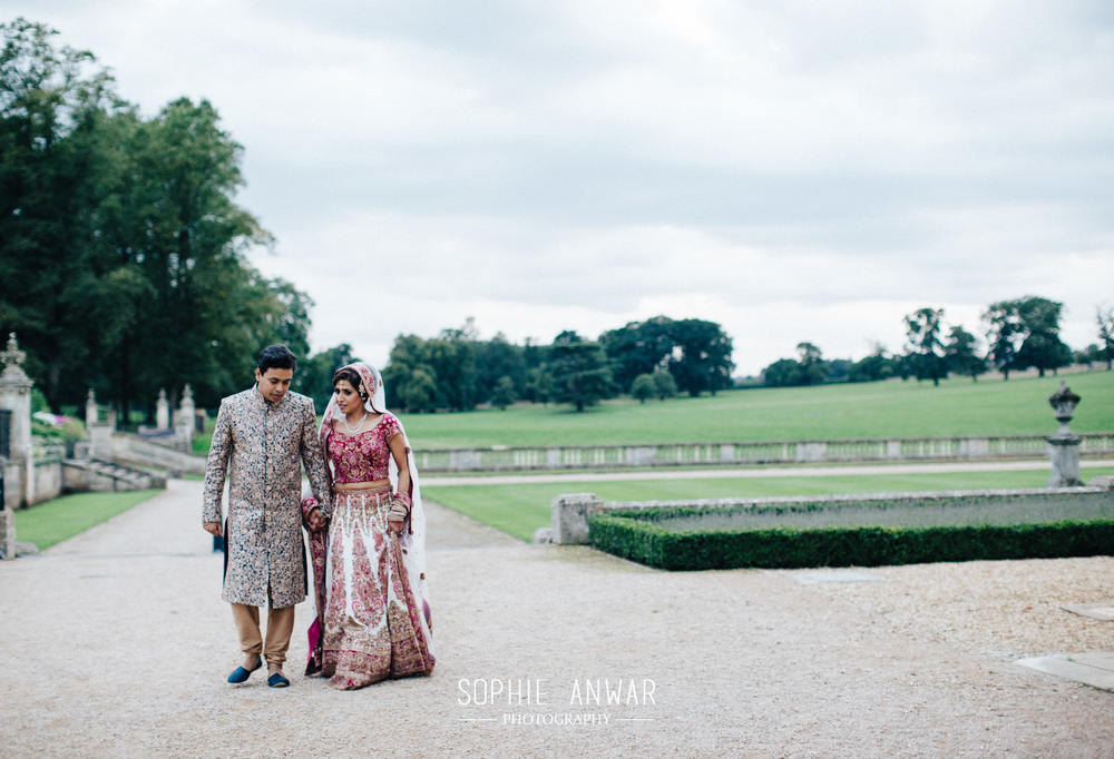 Althorp House Northamptonship luxury muslim asian wedding Princess Diana ancestral home London civil ceremony and nikah