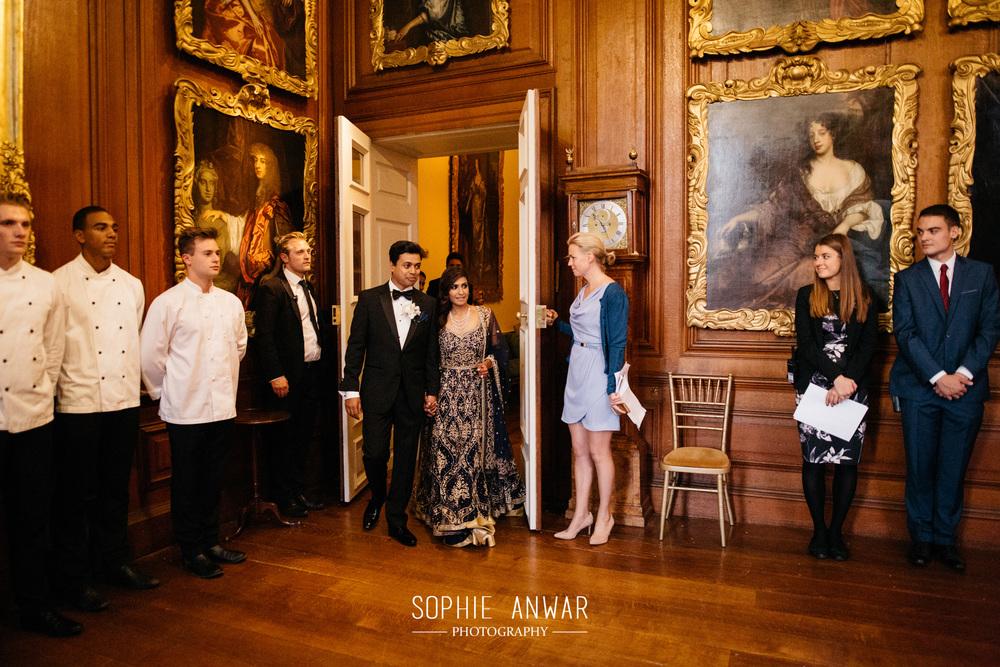 Althorp House Northamptonship luxury muslim asian wedding Princess Diana ancestral home London reception dinner