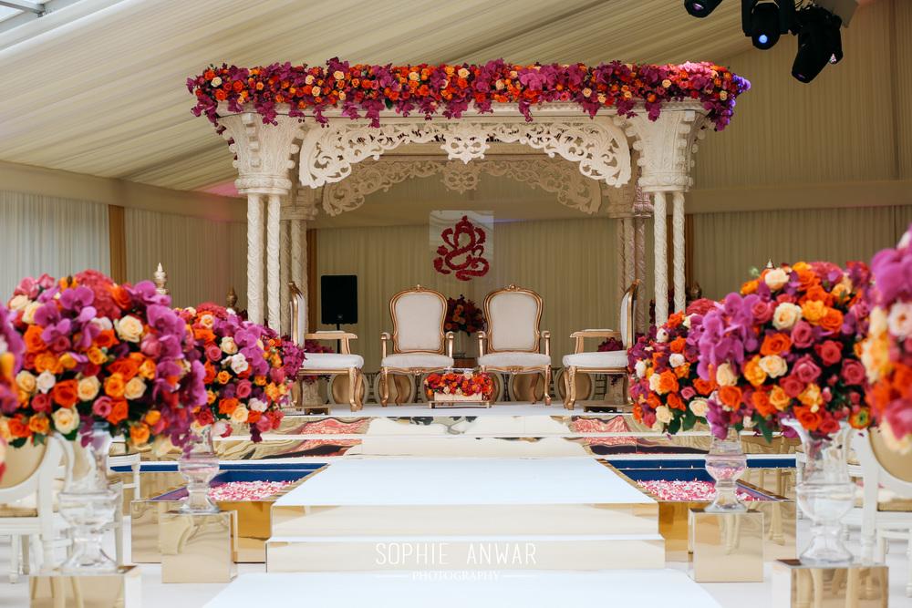 Sikh ceremony havelock Road Gurdwara sikh wedding - lengha bibilondon Milni london luxury weddings Sophie Anwar photography