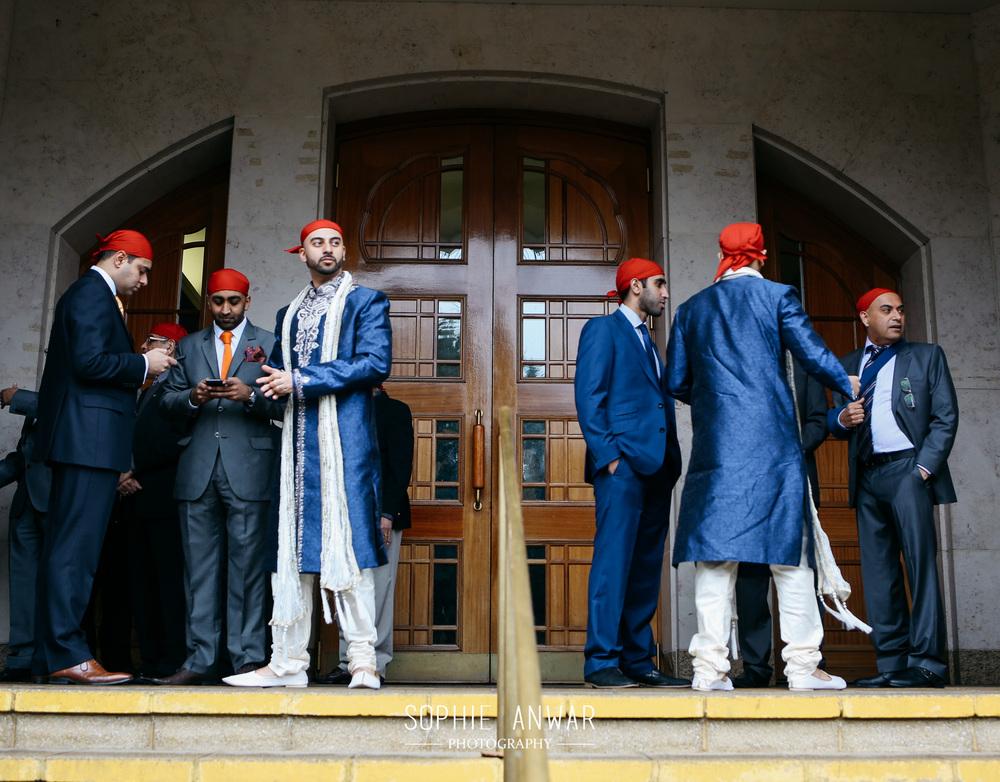 London Sikh wedding at the Gurdwara Southall London Sophie anwar weddings