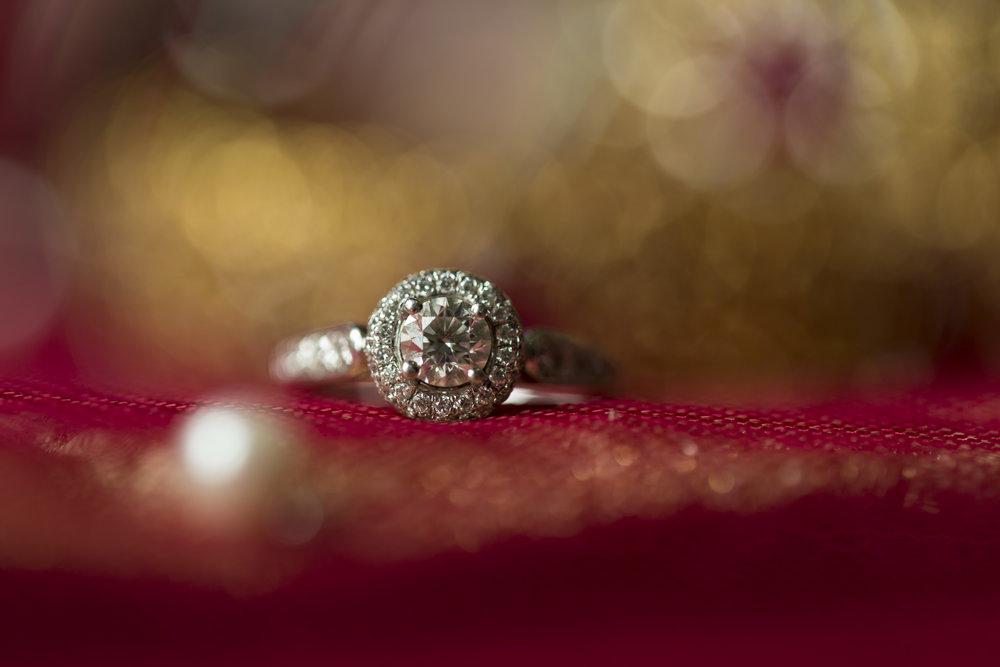 Sana and Khurram Welsh wedding civil ceremony Margam Country park Port Talbot ring details
