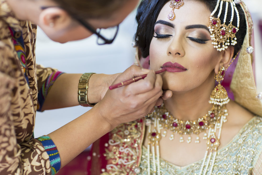 Sana and Khurram Welsh wedding civil ceremony Margam Country park Port Talbot amazing muslim bride mua Cardiff
