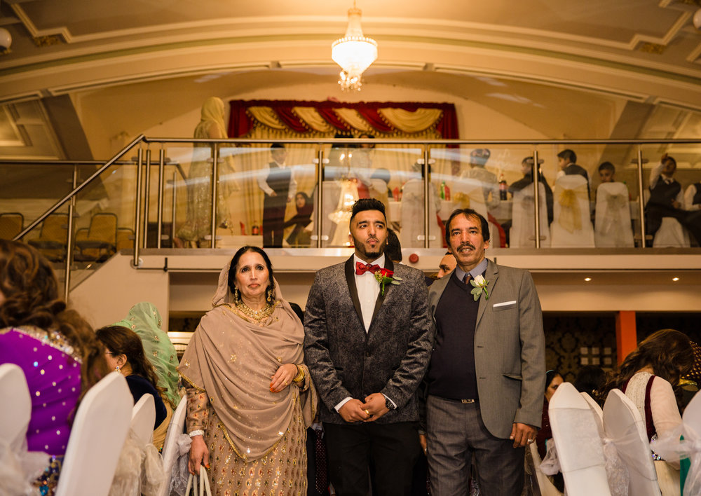 Guffran gets married to Samera at Al hamra Blackburn Sophie Anwar weddings muslim nikah