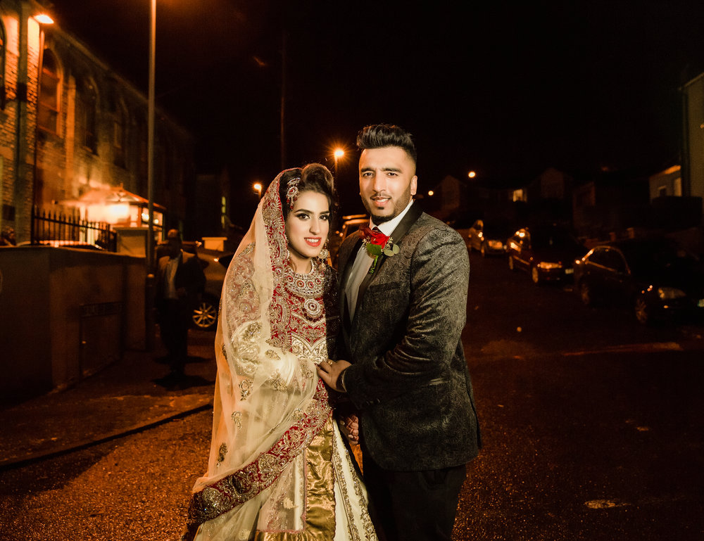 Guffran gets married to Samera at Al hamra Blackburn Sophie Anwar weddings