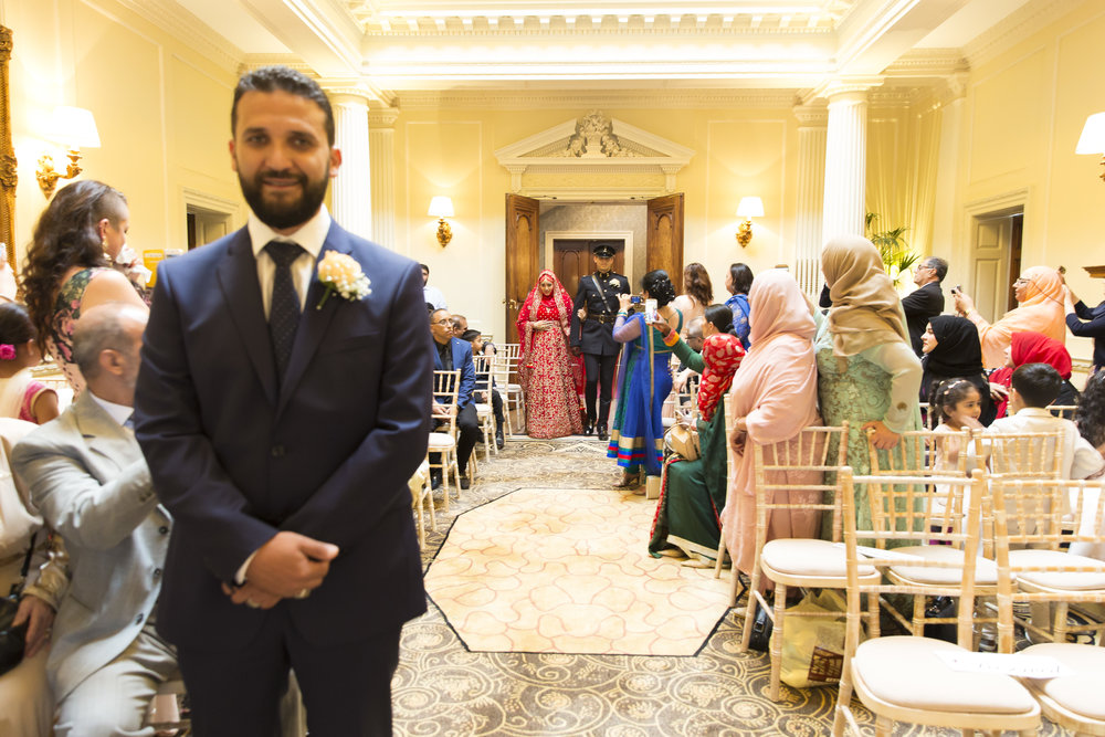 zara gets married to Mohammed at Hedsor house Marlow wedding venue nikah ceremony
