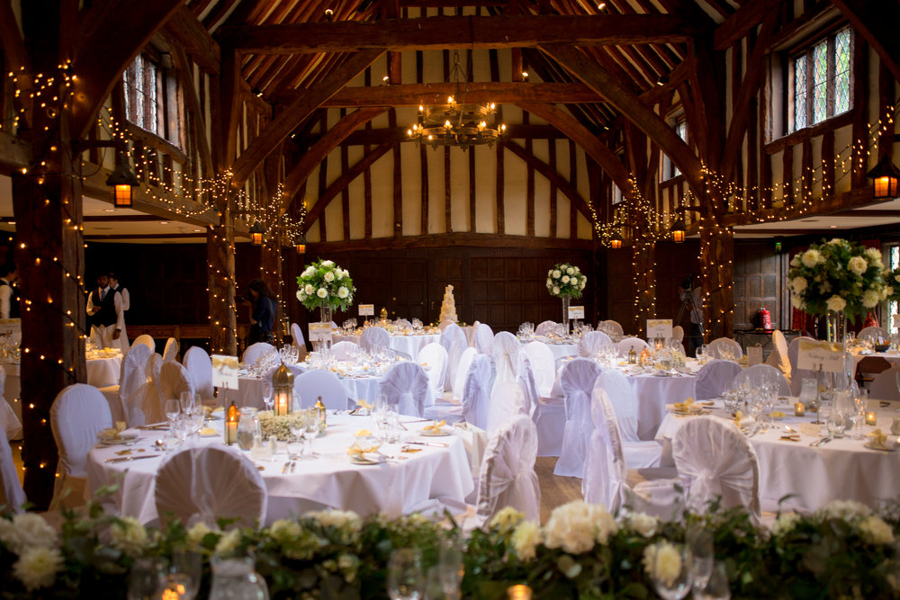 Rebecca and Dan get married at Great Fosters Egham luxury weddings