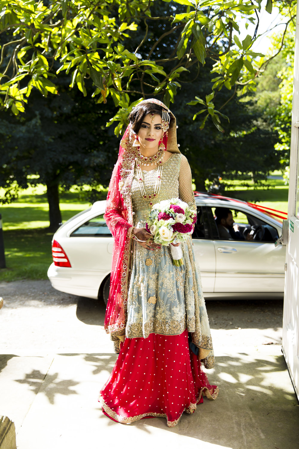 Sana and khurram get married in Margam country park port talbot Wales Cardiff muslim wedding