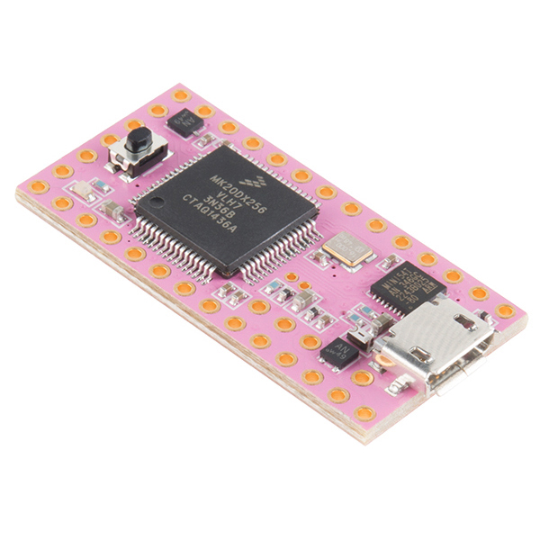 Pink Teensy 3.1 https://www.sparkfun.com/products/retired/13635